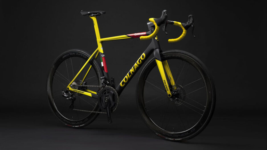 colnago capsule collection yellow